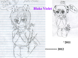 2012 and 2011 Blake Puppy by GaarasGurl123