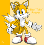 "Miles ""Tails"" Prower by Darkflame64"