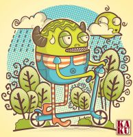 go green without machine by andreasardy