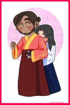 McHanzo Week Day 4: Just for you by samdrawsalot