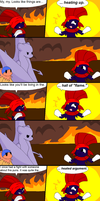 Explorers of Shadows Blooper: Fire Puns by Quilaviper