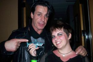 Till Lindemann and I by Devain