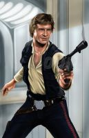 Han Solo - by AJ Moore by GudFit