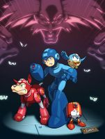 Mega Man Tribute by EspenG