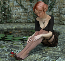 Butterfly by Sparrow3D