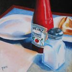Ketchup and Salt by paintintheneck