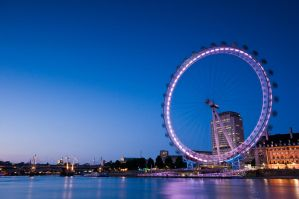 London Eye 5 by paweldomaradzki
