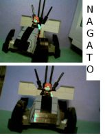 LEGO Nagato by vincentSD1