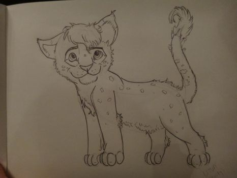 my lion king cub by jitterfly