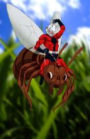 .....Ant-Man..... by thelearningcurv