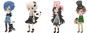 CLOSED!Free Selfy Adoptables-Theme:Stuffed Animals by Mirror-Adopts