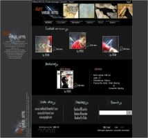 ART Web Site by-- MB GX by medben12