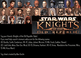 KotOR Facebook Tag thingy by The-Jedi-Exile