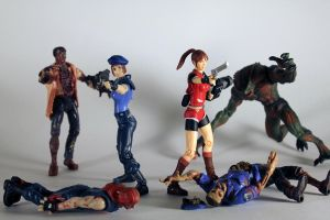 Resident Evil Action Figures by codebreaker2001