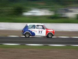mini cooper in action by esthetic-of-sight