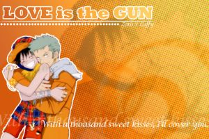 Love Is The Gun by pirateneko by ZoLu-Club
