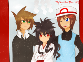 Happy New year 2014 by harihyon