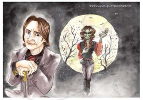 Mr. Gold alias  Rumpelstiltskin by Otto-Chrissi
