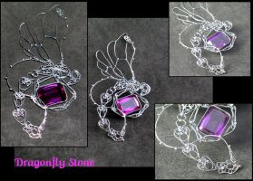 Dragonfly stone by Herisheft