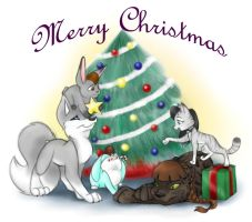 Christmas 2008 by LittleTiger488