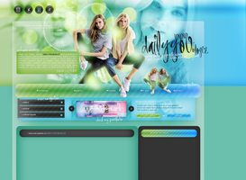 Layout ft. Josephine Skriver and Elsa Hosk by PixxLussy