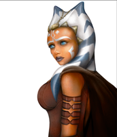 Ahsoka without background by PACMANFIRE