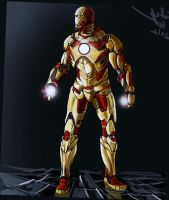 iron man by CosTA-S