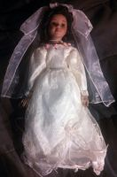 porcelain wedding doll by Devilgirl007