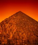Egyptian Sunset by Sortvind