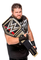 Kevin Owens WWE World Heavyweight Champion by Nibble-T