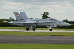 Swiss F18C Hornet 2 by hanimal60