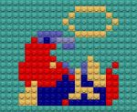 Mario Down Lego by drsparc