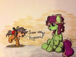 Scootaloo saves Ponyville by IncrediblePanzer