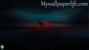 The Dark Moon by mywallpaperlife