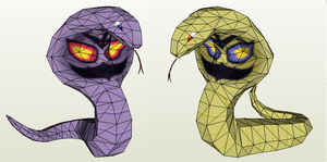 Papercraft - Arbok by Jyxxie