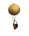 Hot Air Balloon Stock by JinxMim