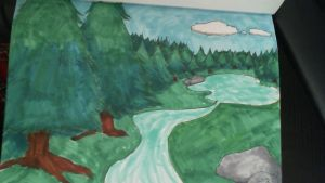Scenery With Copics by GothicLotia