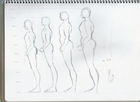 Body structure practice 14 by sophiaan0