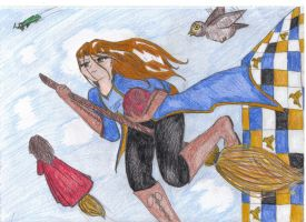Quidditch Trial 31 by angelcol by Hogwarts-Castle