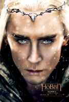 Colorful Thranduil - The Hobbit 3 Poster by Elisa-Gallion