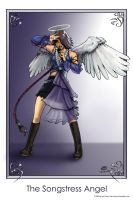 The Songstress Angel by transfuse