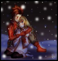 +I-I'll keep you warm...+ by Sheena-X-Zelos