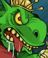 Villain Month 2014 - 019 - King Drool by AndrewDickman