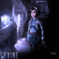 Dead Space: Extraction Lexine by Ainiwaffles