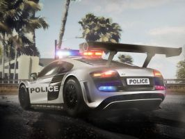 Tropical Police Parking by vitalitygames