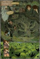 Hobbit Comic Page by aljanny