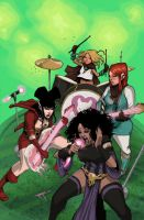 Rat Queens #6 by johnnyrocwell