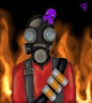 Pyro and Squishy by WhatTheFundip