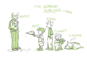 The Kearney Sibs by ComickerGirl