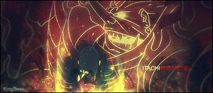 Itachi Susanoo Signature by kingsess
